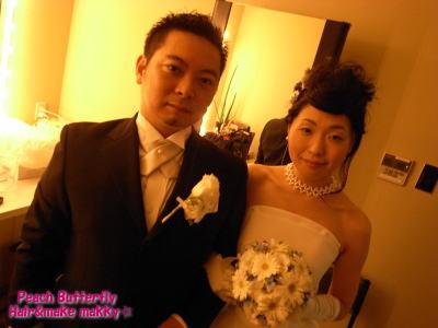 BLUE NOTE♪ JAZZ WEDDING☆_c0043737_2051745.jpg