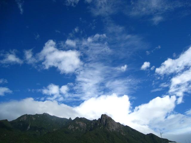 台風、誕生日おめでとう、縄文杉_b0160957_8105115.jpg