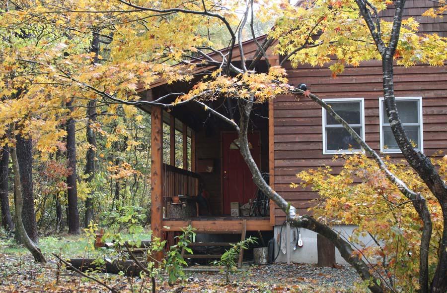 小屋の廻りも秋一色_c0223095_929593.jpg