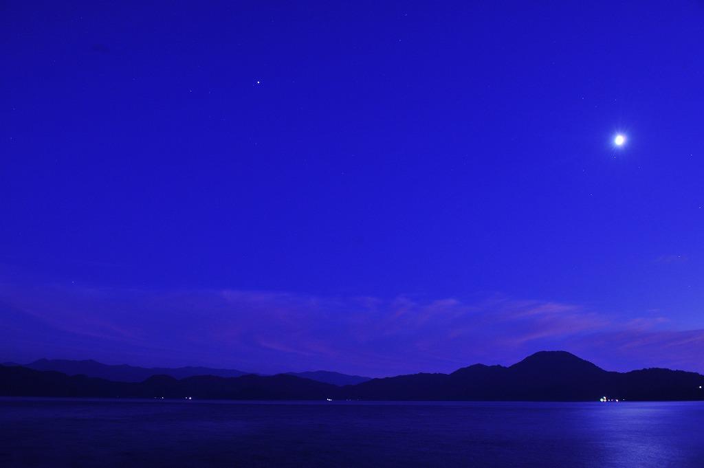 田沢湖薄暮_f0050534_6555536.jpg