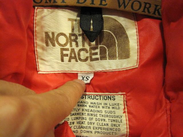 茶タグ  THE NORTH FACE  XSとXS_b0160480_16234032.jpg
