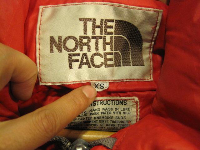 茶タグ  THE NORTH FACE  XSとXS_b0160480_16235924.jpg