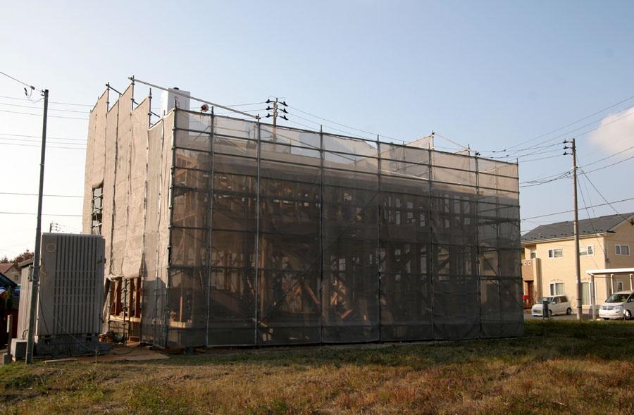 「桜台の家」 の工事_f0150893_1125308.jpg