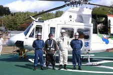 防災ヘリ訓練_d0003224_17444978.jpg