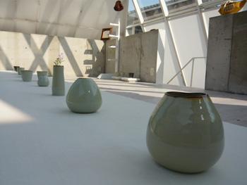 秋の3人展 開催中! ギャラリーガラスのピラミッド_b0151262_11221356.jpg