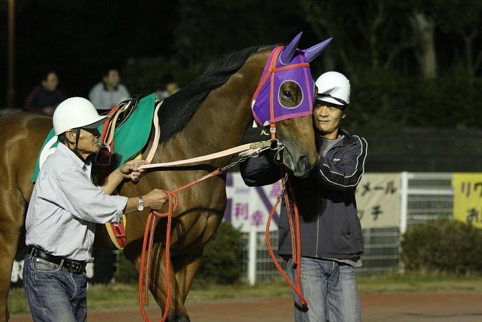 2009年10月24日(土) 高知競馬 6R E8_a0077663_781951.jpg