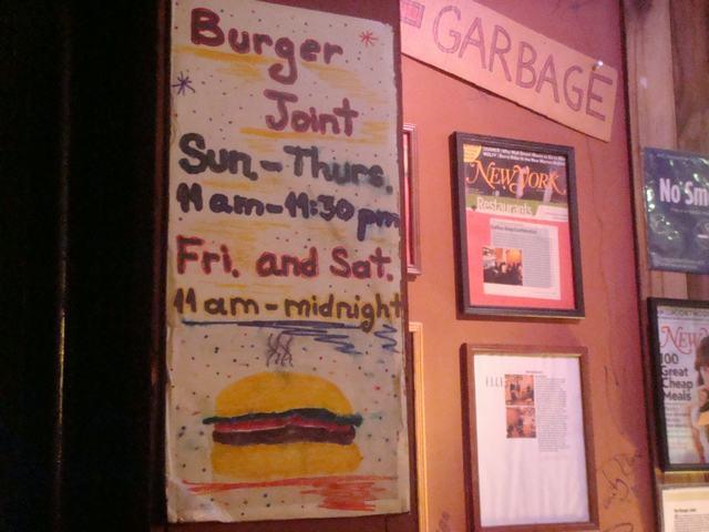 ミッドタウンで一番おいしいと言うハンバーガー屋_d0100880_19352730.jpg