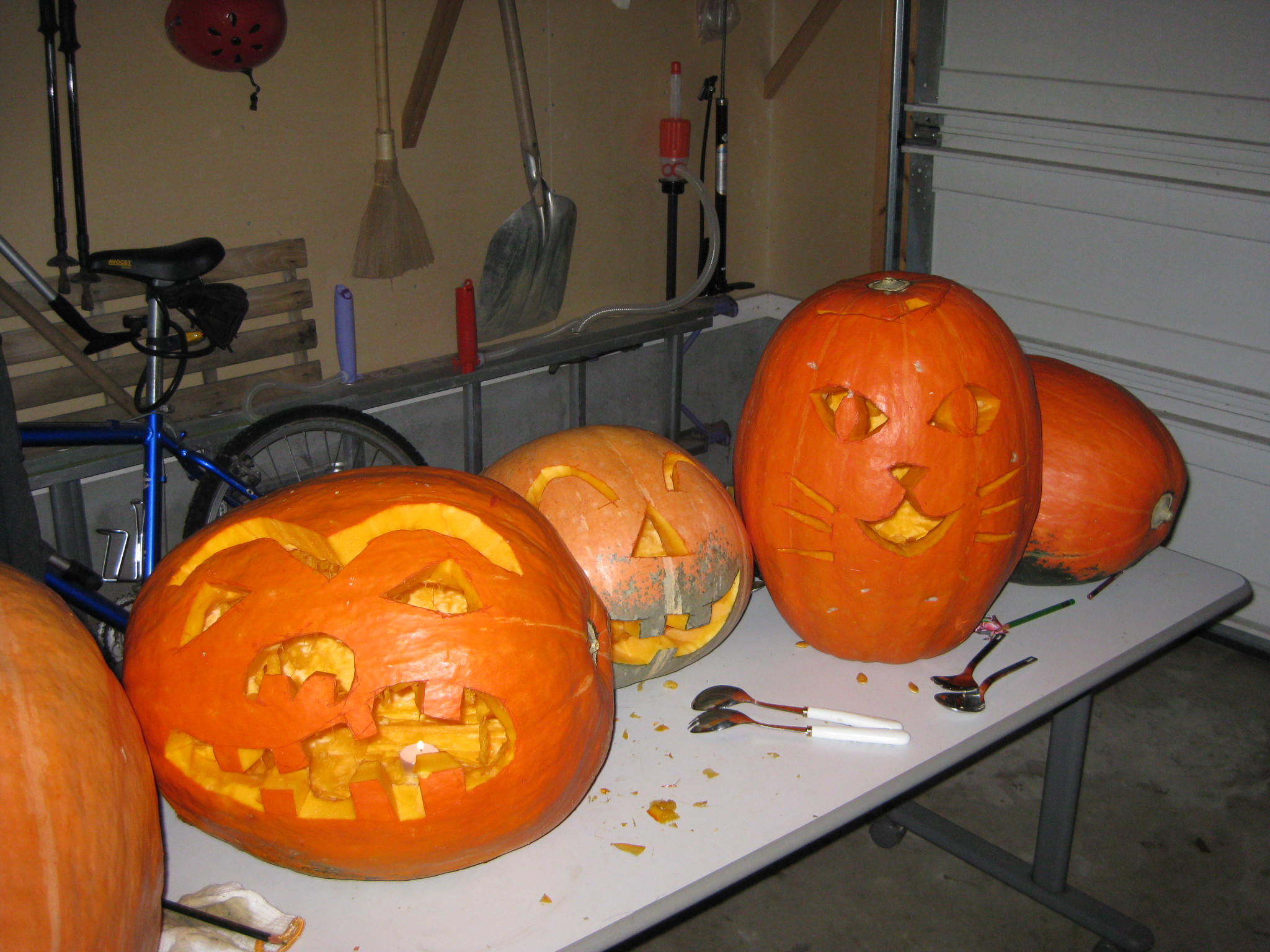 2009 Halloween -Pumpkin Curving-_a0130343_23533626.jpg