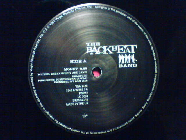 Money / The Backbeat Band_c0104445_22191559.jpg