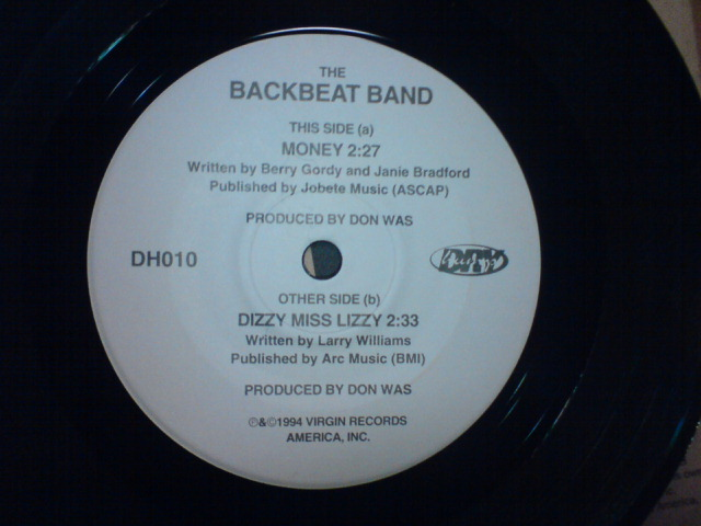 Money / The Backbeat Band_c0104445_22252636.jpg