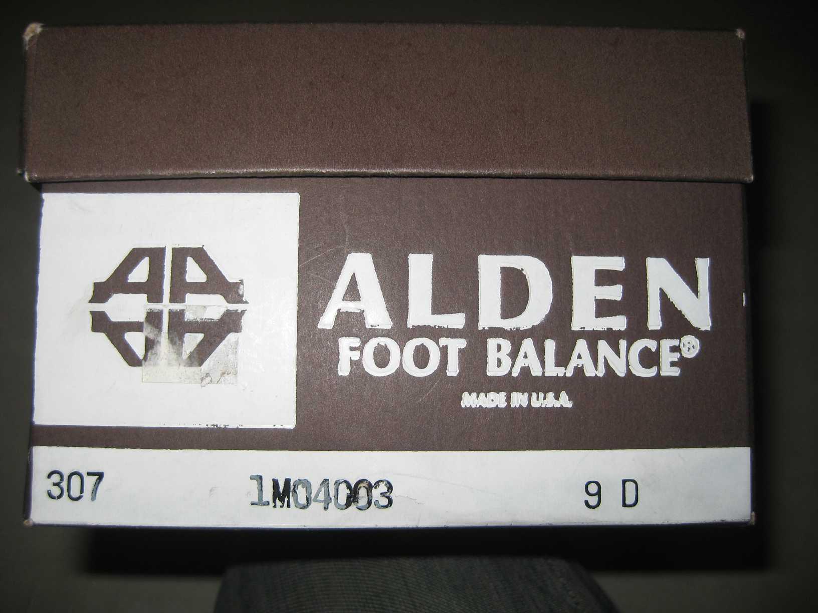 ちょっとレアな ALDEN !!!_e0187362_1058425.jpg