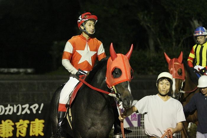 2009年10月24日(土) 高知競馬 7R 旅打ちニッポン協賛 高知旅打ち記念特別 B4_a0077663_5242983.jpg