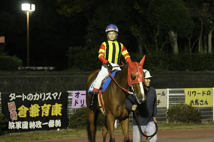 2009年10月24日(土) 高知競馬 7R 旅打ちニッポン協賛 高知旅打ち記念特別 B4_a0077663_5243931.jpg