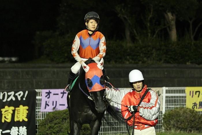 2009年10月24日(土) 高知競馬 7R 旅打ちニッポン協賛 高知旅打ち記念特別 B4_a0077663_5245142.jpg