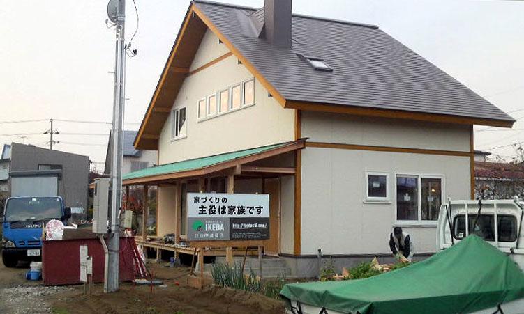 「仁井田二ツ屋」 の家_f0150893_15383287.jpg