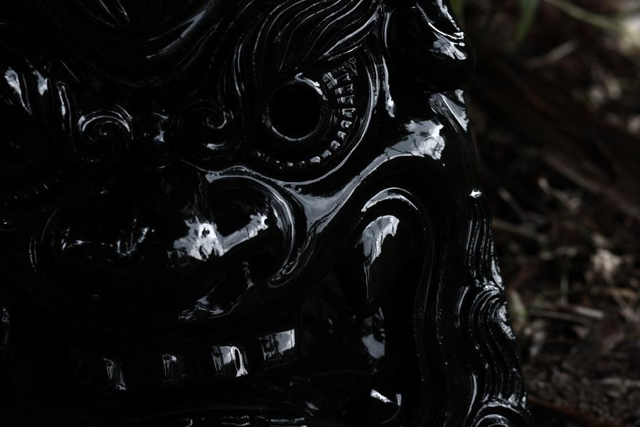 内川鎮守の森ギャラリーⅡ2009 鬼師「森山茂笑」さん_b0157849_19185517.jpg
