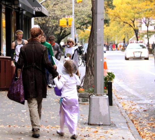 ニューヨークのハロウィン・パレード:当日午後の楽しみ方_b0007805_15581290.jpg