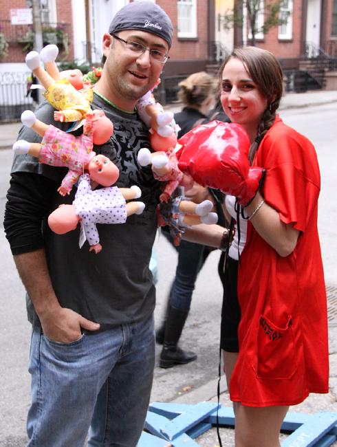 ニューヨークのハロウィン・パレード:当日午後の楽しみ方_b0007805_1683489.jpg