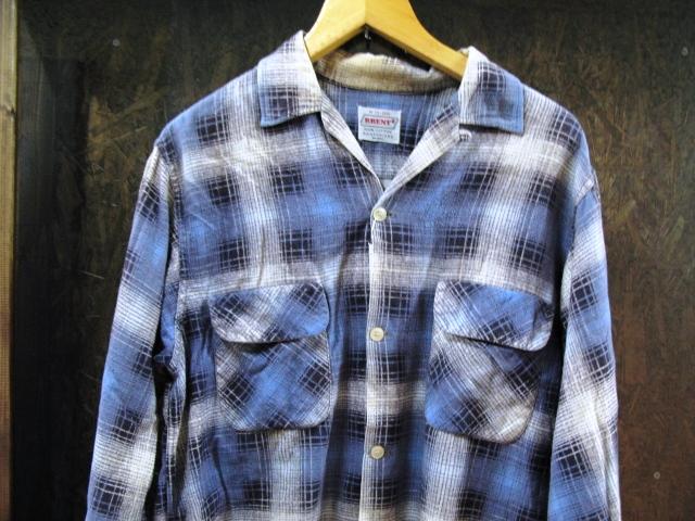 50-60'S BRENT プリントネルシャツ!_c0144020_14394481.jpg