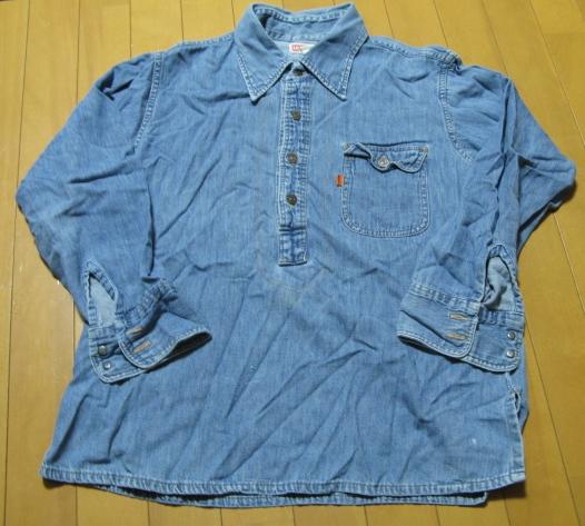 11月2日(火)入荷!70\'S LEVI\'S denim pullover shirts!_c0144020_2322323.jpg