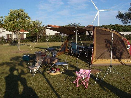 ハロウィーンとキャンプ・・・_b0071543_17142731.jpg