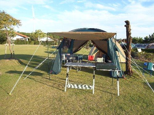 ハロウィーンとキャンプ・・・_b0071543_17144248.jpg