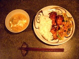 今日の夕飯はチキンのオーブン焼き_e0166355_18313663.jpg