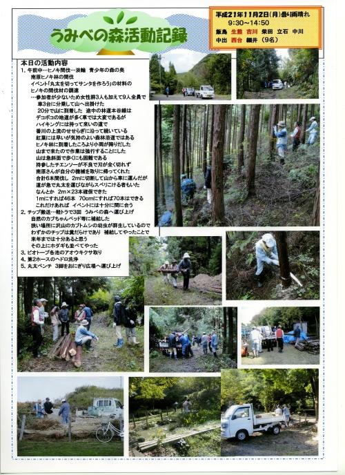 ヒノキ間伐 他・・・定例活動日_c0108460_17361441.jpg