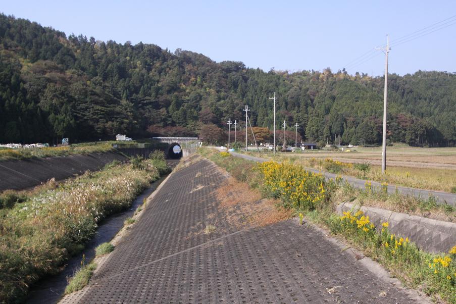 最後の赤紙配達人ロケ地         西野水道近辺_a0107574_823172.jpg