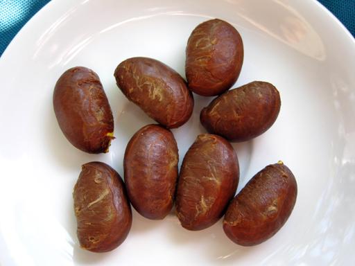 キヤニモモの種子