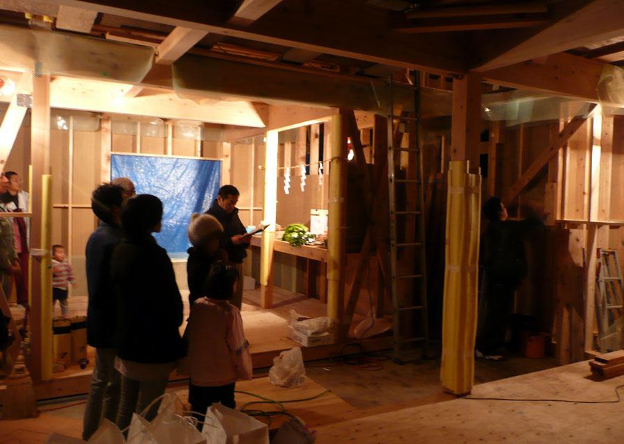 「桜台の家」 上棟式_f0150893_21115048.jpg