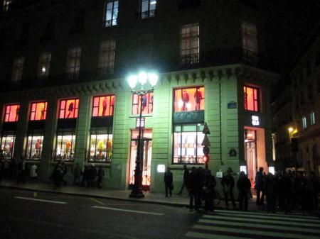 パリ「ユニクロ」店とマドレーヌ寺院コンサート_c0090198_6294013.jpg