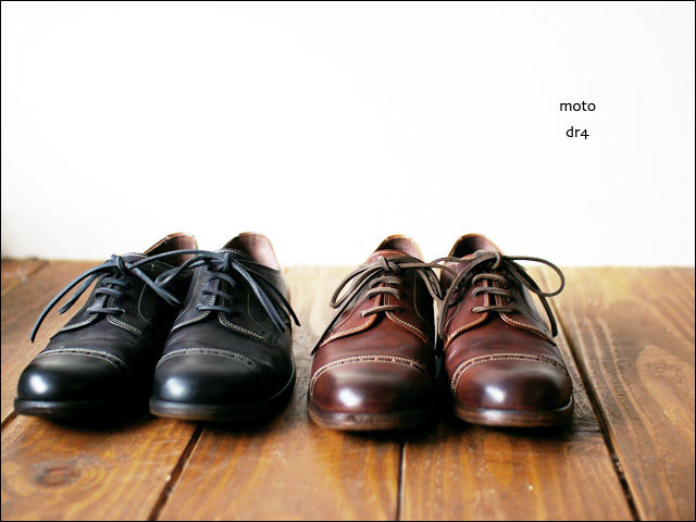 moto leather&silver[モトレザー] DR4 straght tip MEDALLION leather shoes_f0051306_19443068.jpg