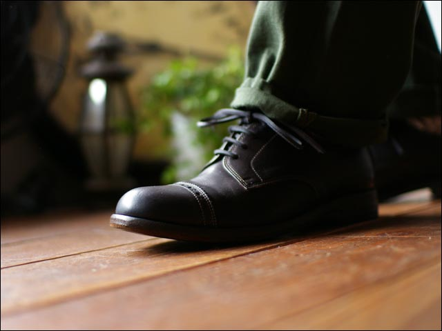 moto leather&silver[モトレザー] DR4 straght tip MEDALLION leather shoes_f0051306_19445573.jpg