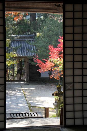 西明寺の紅葉 2_e0048413_2185244.jpg