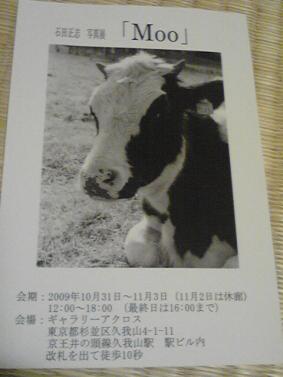 石田正志 写真展「Moo」_f0118879_21401495.jpg