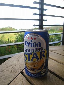 2009年9月 喜瀬別邸 最後のオリオン飲みながら_a0055835_17423351.jpg