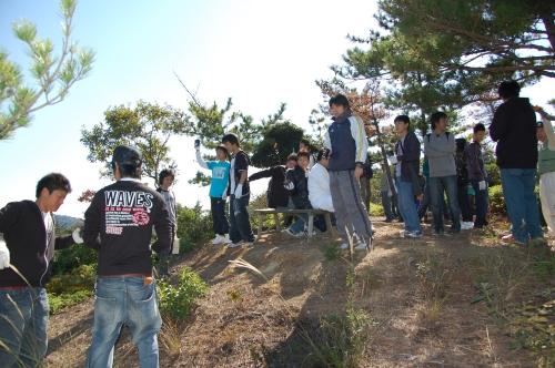岬高校1年生「山・海・人プロジェクト」サポート_c0108460_23553437.jpg