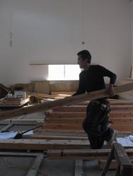 木工事はじまりました。_f0108696_21572572.jpg