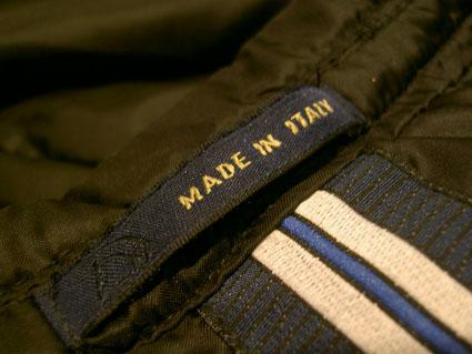 Made  In  Italy  ナイロンジャケット_f0039487_11462844.jpg