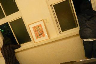 真鍋太郎さん×藤原ようこさん展/最終日再訪〜@夜の森岡書店_f0164187_16412199.jpg