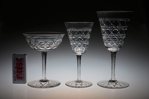 "Baccarat ""Diamond cut\"" glass_c0108595_1495582.jpg"