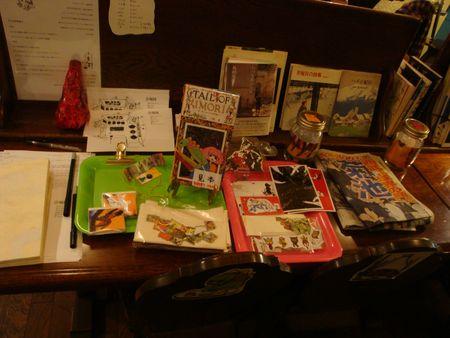 小説「イモリのしっぽ」小鹿夏さんの個展に行った_e0149596_063796.jpg