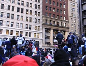 ヤンキース優勝パレードは大騒ぎでした _b0007805_1427204.jpg