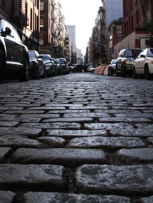 ニューヨークの秋の街角風景、SOHOより_b0007805_2172377.jpg