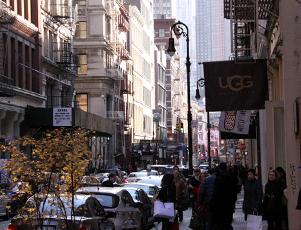 ニューヨークの秋の街角風景、SOHOより_b0007805_2175788.jpg