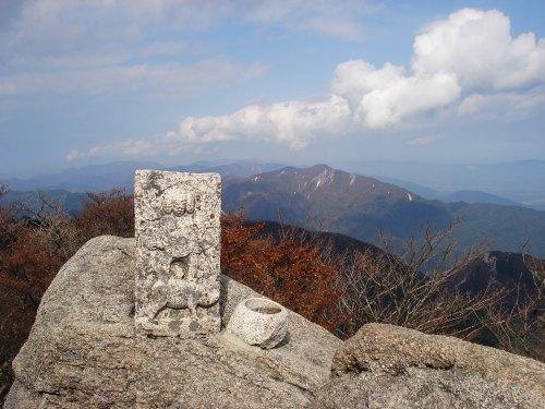 御在所岳 中道を登る 1212m  三重県_d0055236_10494938.jpg