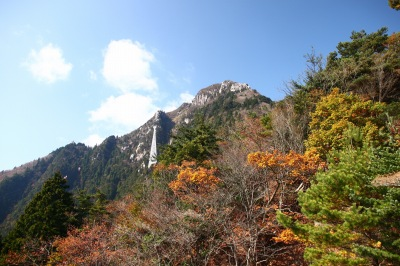 御在所岳 中道を登る 1212m  三重県_d0055236_19134797.jpg