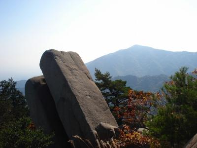 御在所岳 中道を登る 1212m  三重県_d0055236_857923.jpg