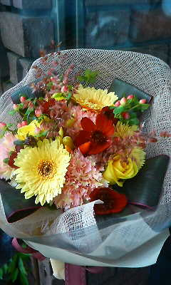 レモンイエローを秋のイメージで・・・_c0137266_2154250.jpg